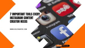 7 Important Tools Every Instagram Content Creator Needs