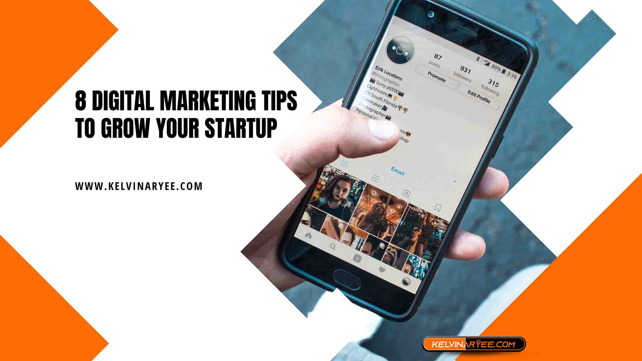 8 Digital Marketing Tips To Grow Your Startup